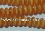 CCT236 15 inches 3*6mm rondelle cats eye beads wholesale