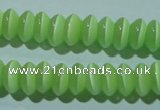 CCT242 15 inches 3*6mm rondelle cats eye beads wholesale