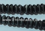 CCT252 15 inches 3*6mm rondelle cats eye beads wholesale