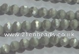 CCT302 15 inches 4mm faceted round cats eye beads wholesale