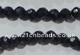 CCT329 15 inches 4mm faceted round cats eye beads wholesale