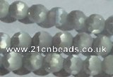 CCT352 15 inches 6mm faceted round cats eye beads wholesale