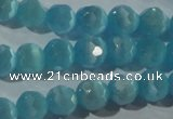 CCT361 15 inches 6mm faceted round cats eye beads wholesale