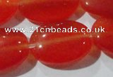 CCT725 15 inches 10*14mm oval cats eye beads wholesale
