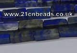 CCU721 15.5 inches 4*13mm cuboid lapis lazuli beads wholesale
