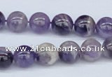 CDA53 15.5 inches 10mm round dogtooth amethyst beads wholesale
