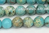 CDE1367 15.5 inches 6mm round sea sediment jasper beads wholesale