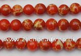CDE2000 15.5 inches 4mm round dyed sea sediment jasper beads