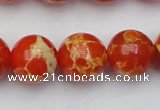 CDE2008 15.5 inches 20mm round dyed sea sediment jasper beads