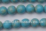 CDE2058 15.5 inches 10mm round dyed sea sediment jasper beads