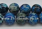 CDE46 15.5 inches 14mm round dyed sea sediment jasper beads wholesale