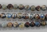 CDI812 15.5 inches 6mm round dyed imperial jasper beads wholesale