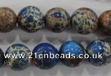 CDI815 15.5 inches 12mm round dyed imperial jasper beads wholesale