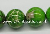 CDI85 16 inches 20mm round dyed imperial jasper beads wholesale