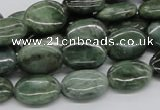 CDJ08 15.5 inches 12*16mm oval Canadian jade beads wholesale