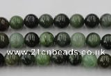 CDJ251 15.5 inches 6mm round Canadian jade beads wholesale