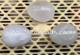 CDN306 30*40mm egg-shaped rose quartz decorations wholesale