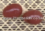 CDN334 35*50mm egg-shaped cherry quartz decorations wholesale