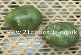 CDN339 35*50mm egg-shaped olivine decorations wholesale
