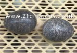 CDN346 35*50mm egg-shaped jasper decorations wholesale