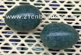 CDN353 35*50mm egg-shaped synthetic gemstone decorations wholesale