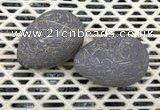 CDN359 35*50mm egg-shaped jasper decorations wholesale