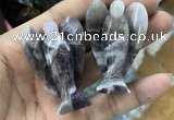 CDN491 35*50mm angel dogtooth amethyst decorations wholesale