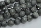 CEE04 15.5 inches 8mm round eagle eye jasper beads wholesale