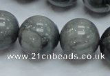 CEE08 15.5 inches 20mm round eagle eye jasper beads wholesale