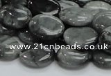 CEE16 15.5 inches 12*16mm oval eagle eye jasper beads wholesale