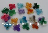 CFG1227 15.5 inches 30*32mm - 30*35mm butterfly agate beads