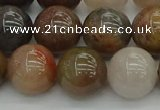 CFJ204 15.5 inches 12mm round fancy jasper beads wholesale