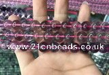 CFL1499 15.5 inches 12mm round purple fluorite gemstone beads