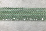 CFL1521 15.5 inches 4mm round green fluorite gemstone beads