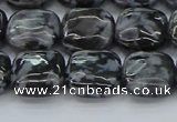 CFS321 15.5 inches 12*12mm square feldspar gemstone beads