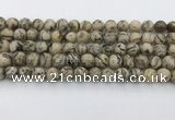 CFS410 15.5 inches 8mm faceted round feldspar beads wholesale