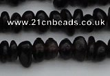CGA653 15.5 inches 5*8mm nuggets red garnet gemstone beads