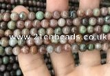 CGA684 15.5 inches 6mm round kashgar garnet beads wholesale