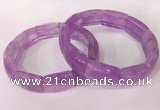 CGB2637 7.5 inches 14*21mm lavender amethyst bracelets wholesale