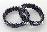 CGB3102 7.5 inches 8*15mm oval agate gemstone bracelets