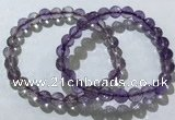 CGB4014 7.5 inches 7mm faceted round ametrine beaded bracelets