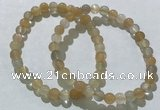 CGB4055 7.5 inches 6mm round moonstone beaded bracelets