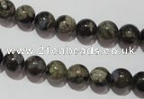 CGE102 15.5 inches 8mm round glaucophane gemstone beads