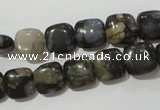 CGE151 15.5 inches 10*10mm square glaucophane gemstone beads