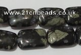 CGE160 15.5 inches 13*18mm rectangle glaucophane gemstone beads