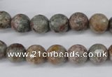 CGG12 15.5 inches 8mm faceted round ghost gemstone beads wholesale
