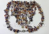 CGN829 20 inches stylish mixed gemstone statement necklaces