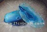 CGP2005 35*65mm - 65*100mm freeform agate slab pendants