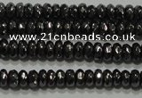 CHE101 15.5 inches 2*3mm faceted rondelle hematite beads wholesale