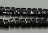 CHE115 15.5 inches 4*6mm tyre hematite beads wholesale